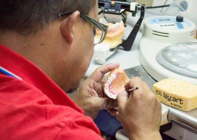laboratorio odontotecnico lavorazione